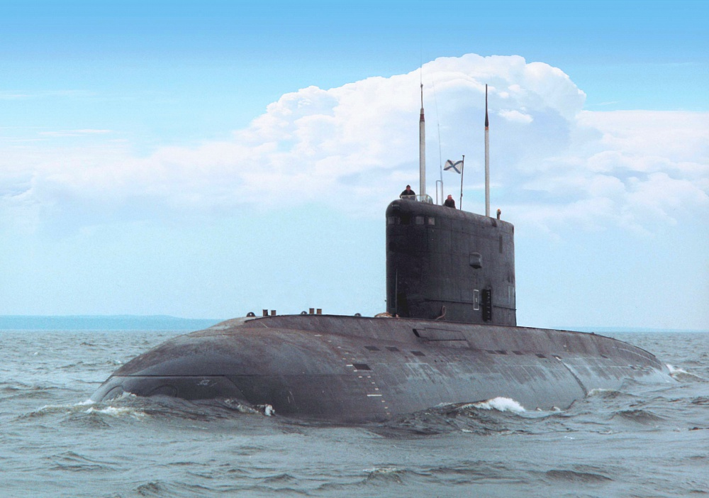 Дизель-электрическими подводными лодками проекта 636.3